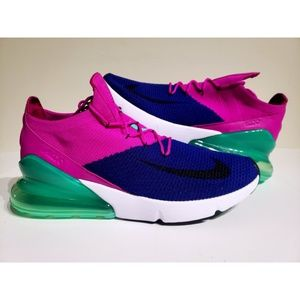 Nike Air Max 270 Flyknit AO1023-401 Running Shoes